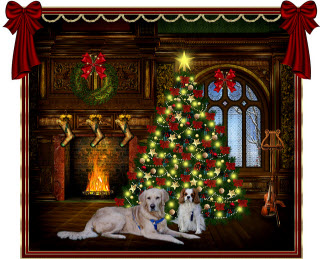 Mobile Hundetrainerin - Weihnachten